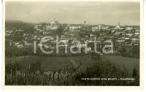 1943 CASTELNUOVO DON BOSCO (ASTI) Veduta panoramica *Cartolina VINTAGE - FP VG