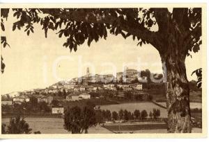 1938 MONTIGLIO MONFERRATO (ASTI) Veduta panoramica *Cartolina VINTAGE FP VG