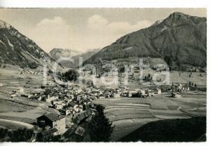 1941 MOENA (TN) Panorama con Valle SAN PELLEGRINO *Cartolina VINTAGE FP VG