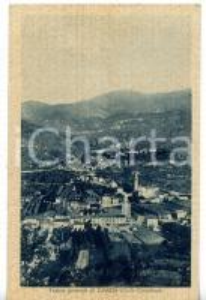 1939 CASAZZA (BG) Veduta generale del paese *Cartolina VINTAGE - FP VG