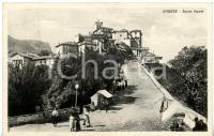 1939 VARESE Salita al SACRO MONTE *Cartolina VINTAGE ANIMATA - FP VG