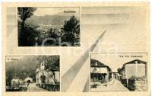 1938 CUVEGLIO Frazione di VERGOBBIO (VA) Vedutine del paese *Cartolina VINTAGE