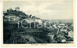 1939 COCCONATO (AT) Panorama del paese *Cartolina VINTAGE viaggiata - FP