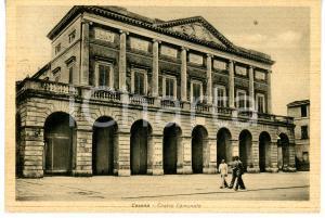 1939 CESENA Veduta del Teatro comunale