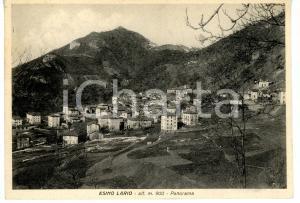 1945 ca ESINO LARIO (LECCO) Panorama del paese *Cartolina VINTAGE FG VG