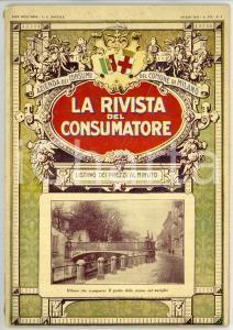 1929 COMUNE DI MILANO La rivista del consumatore - Listino prezzi *Anno VII n° 3