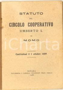 1926 MOMO Circolo cooperativo