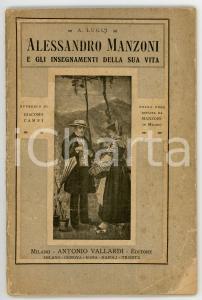 1923 Archimede LUGLI Alessandro Manzoni e gli insegnamenti della sua vita