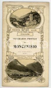 1905 TOURING CLUB ITALIANO Itinerario-profilo del Moncenisio *Anno XI - N° 109