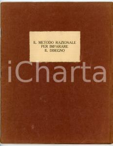 1928 TORINO - SCUOLA ABC DI DISEGNO Il metodo razionale per imparare il disegno