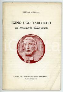 1969 Bruno GALVANI Angelo ARMELLA Igino Ugo Tarchetti nel centenario della morte