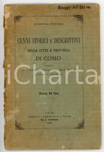1890 Giuseppina RICCARDI Cenni storici e descrittivi della città di Como