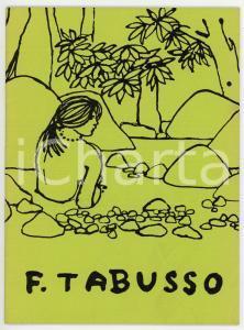 1975 GINEVRA Galerie Ferrero - Francesco Tabusso *Catalogo della mostra - 18 pp.