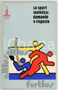 1979 Sergej POPOV Alexei SREBNITZKIJ Lo sport sovietico: domande e risposte