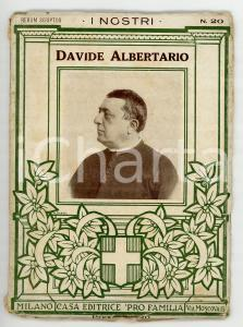 1925 ca Filippo MEDA (Rerum scriptor) Davide ALBERTARIO *Ed. PRO FAMILIA 54 pp.