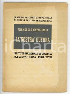 1940 Francesco CATALUCCIO La