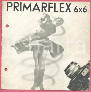 1955 ca GENOVA Ditta A. G. DELL'ACQUA - Macchina fotografica PRIMARFLEX 6x6