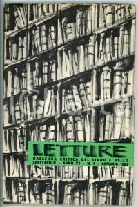 1965 LETTURE Mario SOLDATI / Le due città - Rivista anno XX N° 1 *85 pp.