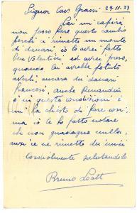 1938 CICLISMO COLOMBES (F) Cartolina Bruno LOATTI per una gara - AUTOGRAFO FP VG