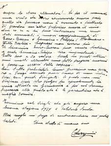1938 CICLISMO PARIGI Edoardo SEVERGNINI chiede gare per stayer - AUTOGRAFO