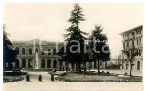 1950 ca LUCCA Piazzale RICASOLI - Scorcio della stazione *Cartolina ANIMATA - FP