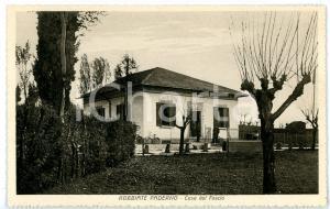 1940 ca ROBBIATE PADERNO (LC) Casa del Fascio *Cartolina ANIMATA - FP NV