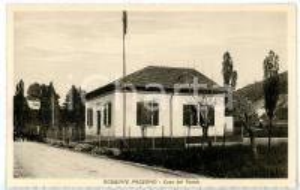 1940 ca ROBBIATE PADERNO (LC) Casa del Fascio - Cartolina ANIMATA FP NV