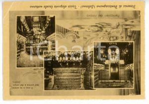1950 ca PONTECAGNANO (SA) Villa NEGRI Vedutine con pizzeria e cantina *Cartolina