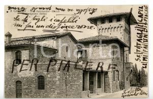 1925 SAN GIMINIANO (SI) Villa Guicciardini-Strozzi *Cartolina Emanuele CANEVARO
