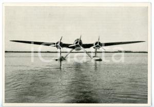 1940 ca MONFALCONE Officine aeronautiche - Idrovolante CANT Z.506 *Cartolina FG