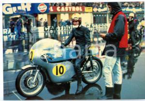 1968 MONZA Gran Premio delle Nazioni - Moto SEELEY-MATCHLESS 500cc *Cartolina FG