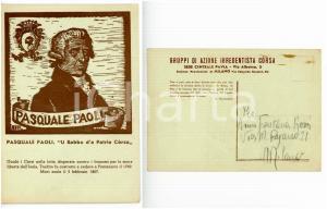 1944 ca PAVIA - GAIC Pasquale PAOLI