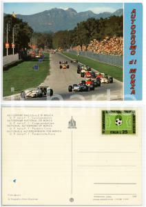 1973 AUTODROMO DI MONZA Gran Premio F1 - Passaggio delle auto *Cartolina FG NV