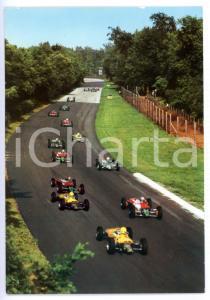 1975 ca AUTODROMO DI MONZA G. P. Lotteria - Uscita dalla curva nord *Cartolina