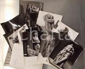 1960 ca MILANO Scultore Renato BASSOLI - Lotto 23 foto con timbro dell'artista