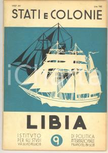 1937 STATI E COLONIE - LIBIA *Rivista n° 9 - 40 pp.