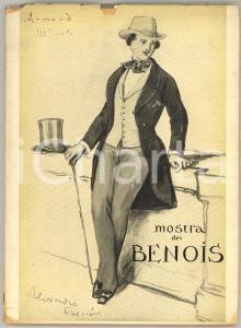 1955 COMO Villa OLMO - Mostra dei BENOIS - Catalogo ILLUSTRATO