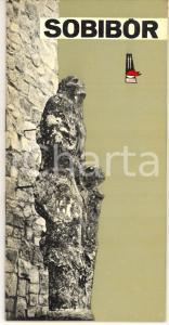 1967 SOBIBOR (POLONIA) Guida al campo di sterminio *Polish brochure