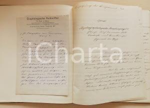 1903 BERLIN J. DILLOO Psychographologischer Menschenspiegel *Firma AUTOGRAFA