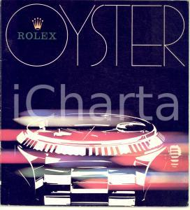 1977 SVIZZERA OROLOGI Catalogo ROLEX OYSTER - Illustrato 35 pp.