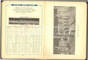 1940 ca MILANO Ditta Attilio BRIVIO Metalli - Zincatura *Catalogo 94 pp.
