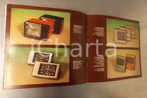 1979 MILANO Ditta I. BINDA - Catalogo BREIL OKAY radiosveglie *24 pp.