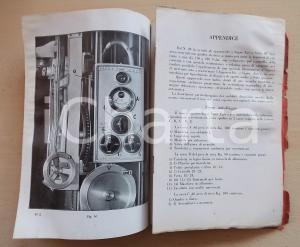 1935 Carlo BIANCHI L'apparecchio fotografico SUPER EGO - Libretto DANNEGGIATO