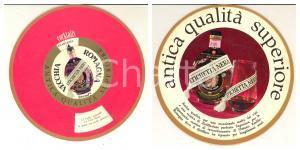 1970 ca VECCHIA ROMAGNA ETICHETTA NERA -  Disco pubblicitario cocktails