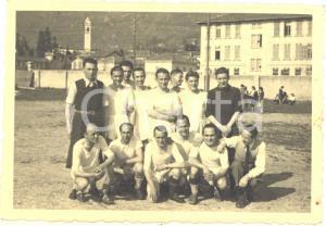 Pasqua 1945 GAVIRATE Partita di calcio tra sfollati e gaviratesi - Foto 10x7 cm