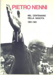 1991 Francesco COLUCCI - Pietro Nenni nel centenario della nascita *55 pp.