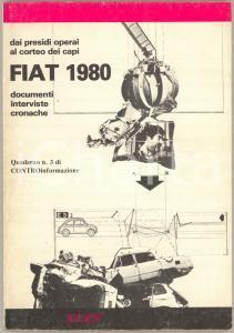 1980 AA.VV. - FIAT 1980. Documenti, interviste, cronache *Controinformazione n° 3