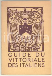 1950 Antonio BRUERS Le Vittoriale des Italiens - Guide resumé *72 pp.