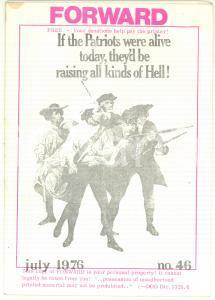 1976 BERLIN - FORWARD - The American Revolution *GI Counselling Center Newspaper