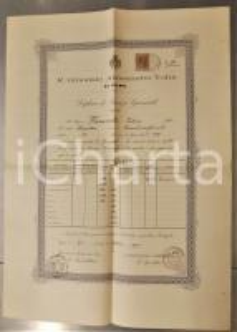 1901 COMO Ginnasio